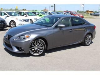 Used 2015 Lexus IS 250 Luxury/awd/t.ouvrant for sale in St-Eustache, QC