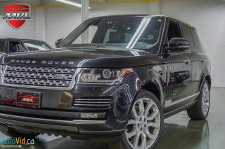 Used 2014 Land Rover Range Rover 4WD 4dr SC Autobiography SWB for sale in Oakville, ON