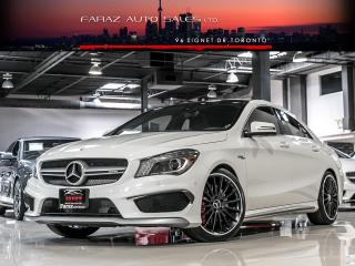 Used 2015 Mercedes-Benz CLA-Class CLA45 AMG NAVI|BLINDSPOT|REAR CAM|PANO|LOADED for sale in North York, ON
