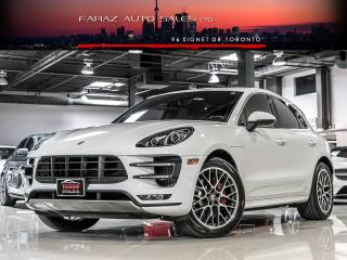 Used 2015 Porsche Macan TURBO|LKA|BLINDSPOT|BURMESTER|NAVI|REAR CAM|CARBON FIBER|LOADED for sale in North York, ON