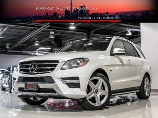 Used 2012 Mercedes-Benz ML 350 AMG|NAVI|BLINDSPOT|REAR CAM|PANO|PUSH START|BLUETEC for sale in North York, ON