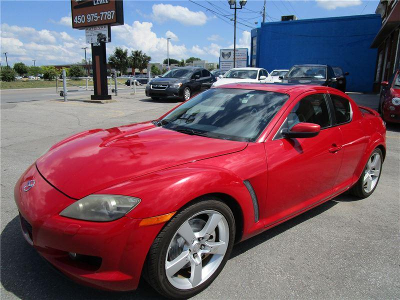 used 2004 mazda rx-8 gt for sale in laval, quebec   carpages.ca