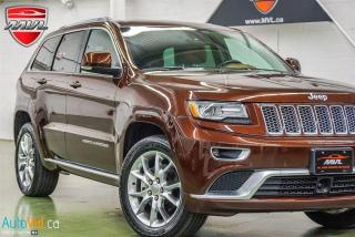 Used 2015 Jeep Grand Cherokee 4WD 4dr Summit for sale in Oakville, ON