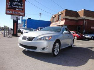 Used 2010 Lexus IS 250 Awd.toit.couir.a1 for sale in Laval, QC