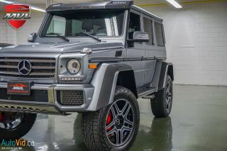 Used 2017 Mercedes-Benz G-Class AWD 4dr G 550 4x4 Squared for sale in Oakville, ON