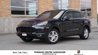 Used 2018 Porsche Cayenne w/ Tip | PORSCHE CERTIFIED for sale in Vancouver, BC