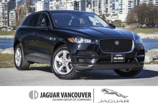 Used 2018 Jaguar F-PACE 25t AWD Premium *Certified Pre-Owned 6yr/160,000km Warranty! for sale in Vancouver, BC
