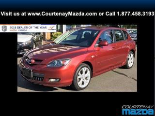 Used 2009 Mazda MAZDA3 Sport GT 5sp for sale in Courtenay, BC