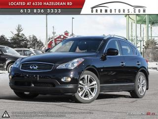 Used 2015 Infiniti QX50 AWD for sale in Ottawa, ON