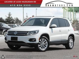 Used 2014 Volkswagen Tiguan COMFORTLINE for sale in Ottawa, ON