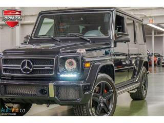 Used 2017 Mercedes-Benz G-Class 4MATIC 4dr AMG G 63 for sale in Oakville, ON