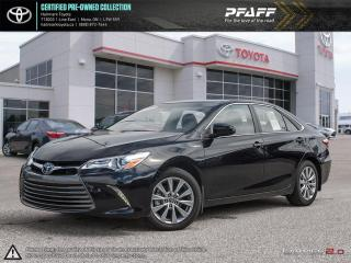 Used 2017 Toyota Camry HYBRID XLE CVT LOADED NAVI, SUNRROF AND MORE for sale in Orangeville, ON