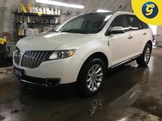 Used 2013 Lincoln MKX AWD*LEATHER*SUNROOF/PANORAMIC ROOF*REMOTE START*NAVIGATION*MICROSOFT SYNC CONNECT*LEATHER* BACK UP CAMERA/SENSOR*PHONE CONNECT* BLIND SPOT ASSIST* DRI for sale in Cambridge, ON