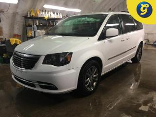 Used 2015 Chrysler Town & Country S*Garmin Navigation System*Black Torino leather trimmed seats*Blu-ray/DVD Player*Dual DVD/Blu-ray Entertainment *Uconnect 430 6.5-inch Touch/CD/Hard-d for sale in Cambridge, ON