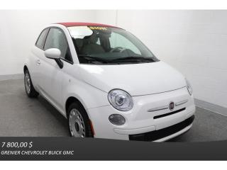 Used 2014 Fiat 500 Convertible Pop A/c for sale in Terrebonne, QC