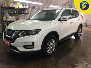 Used 2018 Nissan Rogue SV*AWD*APPLE CAR PLAY/ANDROID AUTO/PHONE CONNECT*FORWARD COLLISION WARNING*BACK UP CAMERA*REMOTE START*VOICE RECOGNITION*PASSIVE ENTRY*BLIND SPOT ASIS for sale in Cambridge, ON