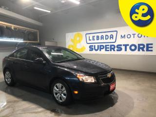 Used 2014 Chevrolet Cruze LT * Steering Wheel Controls * Hands Free Calling * AM/FM stereo with CD player, MP3 playback, graphical display *  AM/FM/SAT/USB/Aux * Automatic Head for sale in Cambridge, ON