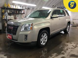 Used 2012 GMC Terrain SLE2*ECO BOOST*TOUCH SCREEN*PHONE CONNECT/ HANDS-FREE CONTROLS/VOICE COMMAND*BACK UP CAMERA*AUTO HEADLIGHTS/FOG LIGHTS*HEATED FRONT SEATS* for sale in Cambridge, ON