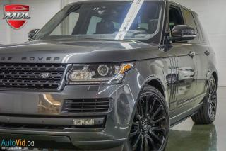 Used 2016 Land Rover Range Rover 4WD 4dr SC Autobiography SWB for sale in Oakville, ON