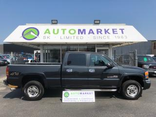 Used 2004 GMC Sierra 2500 HD Crew Cab Short Bed 4WD WARRANTY! for sale in Langley, BC
