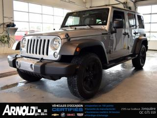 Used 2016 Jeep Wrangler Sahara for sale in Jonquière, QC
