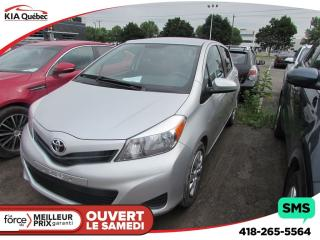 Used 2014 Toyota Yaris LE BLUETOOTH for sale in Quebec, QC