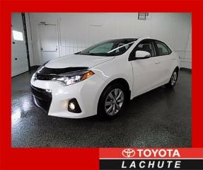 Used 2014 Toyota Corolla S CERTIFIÉ CUIR/CAM/SIEGES CHAUFFANTS !!! for sale in Lachute, QC