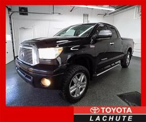 Used 2010 Toyota Tundra LIMITED 5.7L 4X4  DOUBLE CAB GARANTIE 36 MOIS !!! for sale in Lachute, QC