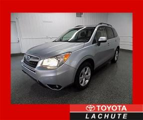 Used 2015 Subaru Forester 2.5i LIMITED TOIT/CAM/MAGS GARANTIE 2023 !!! for sale in Lachute, QC