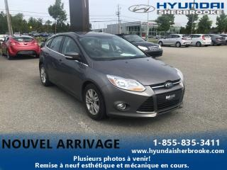 Used 2012 Ford Focus SEL + AIR CLIM + SIÈGES CHAUFFANT + BLUE for sale in Sherbrooke, QC