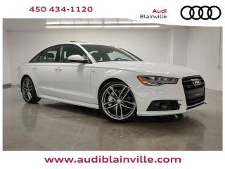 Used 2017 Audi A6 2.0T Technik Quattro for sale in Blainville, QC