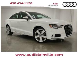 Used 2018 Audi A3 2.0T Komfort quattro for sale in Blainville, QC
