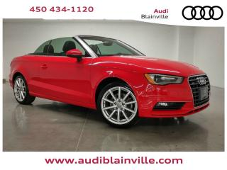 Used 2015 Audi A3 2.0t Cab Komfort for sale in Blainville, QC