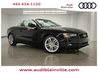 Used 2013 Audi A5 2.0t Cab Premium for sale in Blainville, QC