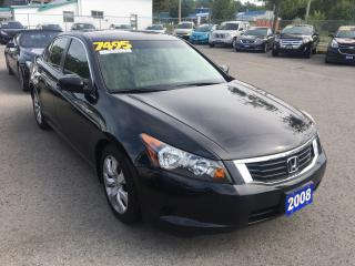 Used 2008 Honda Accord EX-L for sale in St Catharines, ON