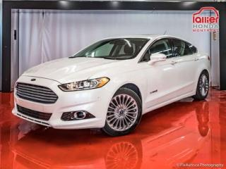Used 2013 Ford Fusion Titanium Hybride for sale in Montreal, QC