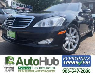 Used 2007 Mercedes-Benz S-Class S550-TOP OF THE LINE for sale in Hamilton, ON
