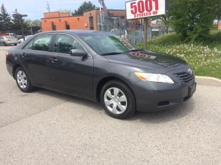 Used 2007 Toyota Camry LE,4CYL,AUTO,SAFETY+3YEARS WARRANTY INCLUDED for sale in North York, ON
