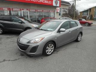 Used 2010 Mazda MAZDA3 GX A/C for sale in Salaberry-de-valleyfield, QC