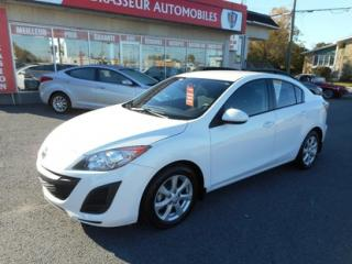 Used 2011 Mazda MAZDA3 GX A/C GR.ELECTRIQUE for sale in Salaberry-de-valleyfield, QC