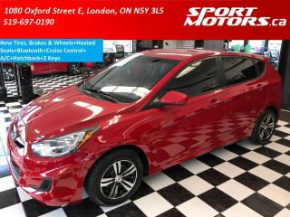 Used 2014 Hyundai Accent GL+Bluetooth+Cruise Ctrl+New Tires & Brakes for sale in London, ON