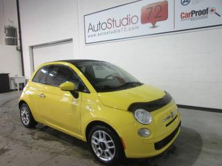 Used 2012 Fiat 500 C **CONVERTIBLE**MANUELLE**MAGS**CRUISE** for sale in Mirabel, QC