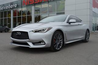 Used 2017 Infiniti Q60 3.0T Red Sport 400 for sale in St-Jérôme, QC