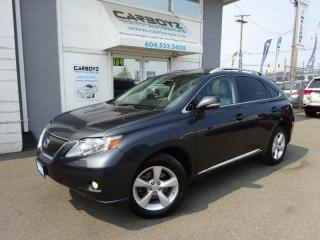 Used 2010 Lexus RX 350 Touring AWD, Nav, Sunroof, Camera, Extra Clean!! for sale in Langley, BC