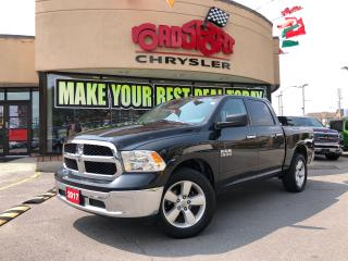 Used 2017 RAM 1500 SLT CREW CAB 20' WLS 6PASS V6 R-CAM HITCH 1 OWNER for sale in Toronto, ON