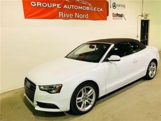Used 2013 Audi A5 2.0t Premium,convert for sale in Montreal, QC