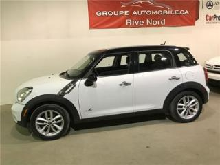 Used 2012 MINI Cooper S AWD for sale in Montreal, QC