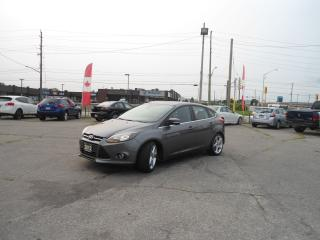 Used 2012 Ford Focus AUTO HATCH 5 DR TITANIUM NAVI SUNROOF NO ACCIDENT for sale in Oakville, ON