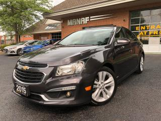 Used 2015 Chevrolet Cruze LTZ for sale in Concord, ON