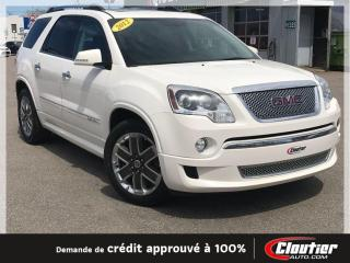 Used 2012 GMC Acadia Denali AWD for sale in Trois-Rivières, QC